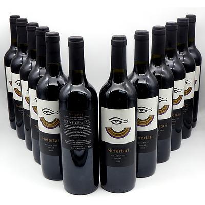 Nefertari 2002 McLaren Vale Shiraz - Case of 12 Bottles