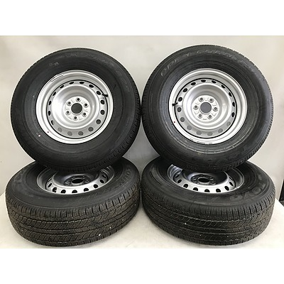 Nissan Navara Brand New Factory Wheels And Tyres