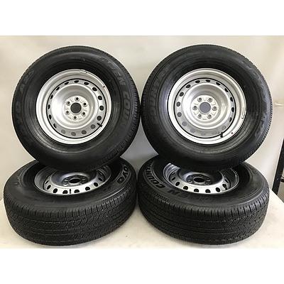 Nissan Navara Brand New Factory Wheels And Tyres