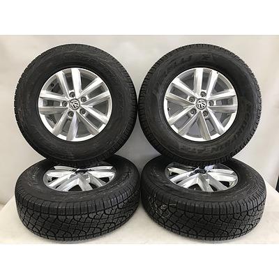 Volkswagen Amarok Factory 16 Inch Alloy Rims With Pirelli Tyres