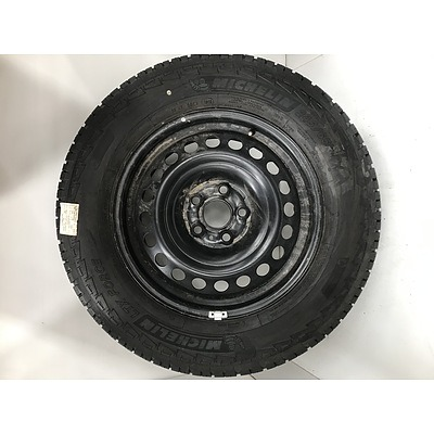 Volkswagen Steel Factory Rim with Brand New Michelin Tyre