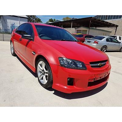 5/2007 Holden Commodore VE 4d Sedan Red 3.6L