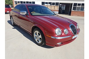 3/2001 Jaguar S Type V8 SE MY01 4d Sedan Maroon 4.0L