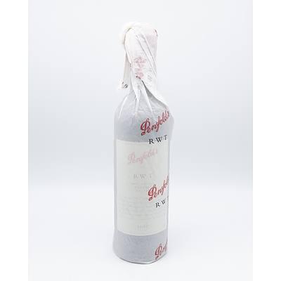 Penfolds RWT 2001 Barossa Valley Shiraz - Bottle No 048437