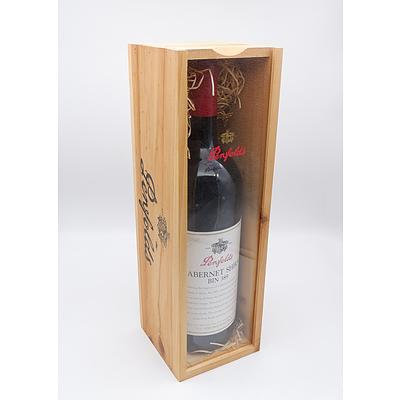Penfolds Bin 389 1998 Cabernet Shiraz - 1.5 Litre in Timber Presentation Box