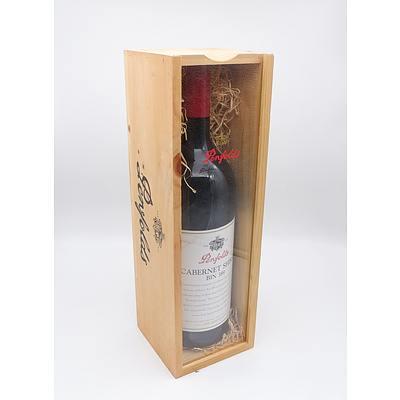 Penfolds Bin 389 1998 Cabernet Shiraz - 1.5 Litre in Timber Presentation Box