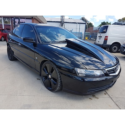 10/2002 Holden Commodore  VY 4d Sedan Black 5.7L