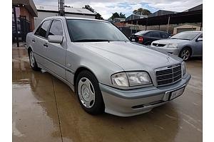 2/1999 Mercedes-Benz C180 Classic W202 4d Sedan Silver 1.8L