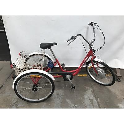 Gomier Trike With Aftermarket Electric Hub