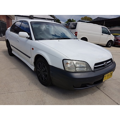 1/2000 Subaru Liberty RX MY00 4d Sedan White 2.5L