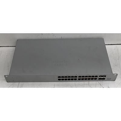 Cisco Meraki (MS120-24P) Cloud Managed Switch