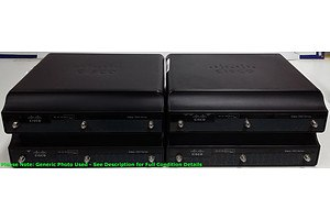 Cisco (CISCO1941W-N/K9) 1941 Series Integrated Services Router - Lot of Four