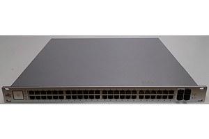 Ubiquiti Networks (US-48-500W) UniFi 48 Port Managed Gigabit Ethernet PoE+ Switch