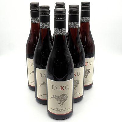 TaKu Marlborough New Zealand 2016 Pinot Noir - Case of Six Bottles