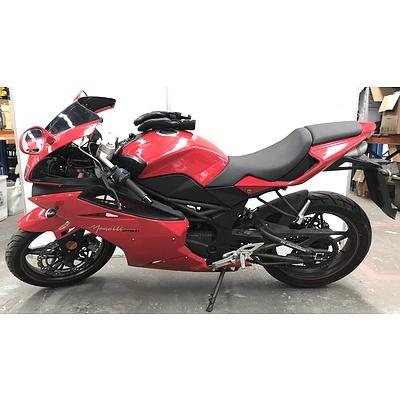 2010 Megelli 250R 250cc Sports Bike