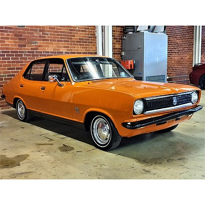 05/1973 Holden Torana LJ 1300 Deluxe Sedan Orange 1.3L