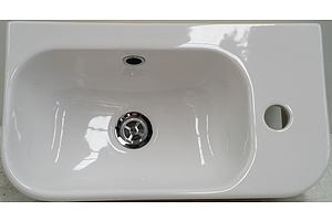 Caroma Luna Hand Wall Basin - New - RRP $280.00