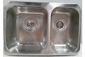 Clark Polar 1.5 Bowl Stainless Steel Overmount Kitchen Sink