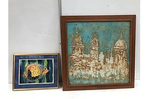 Screen Printing and Fish Painting