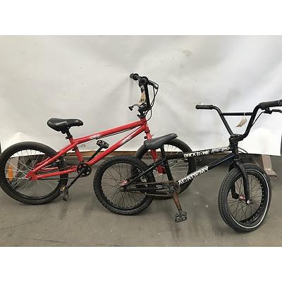 Repco Scribe and Backbone BMX Bikes