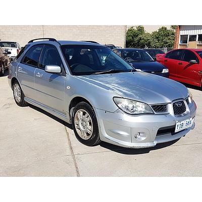 6/2006 Subaru Impreza 2.0i (awd) MY06 5d Hatchback Silver 2.0L
