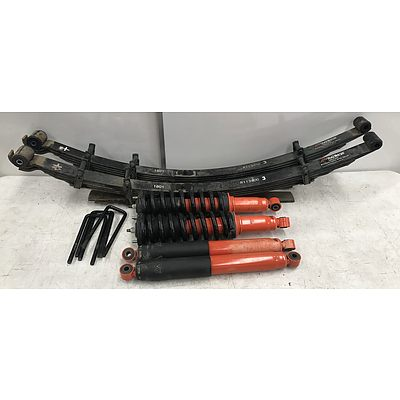 2015 Isuzu D-Max Outback Armour Suspension Upgrade 50mm Lift