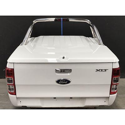 2012 Dual Cab Ford Ranger XLT Tub Conversion -White