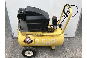 Super Works Air Power 2.5HP Air Compressor