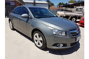 5/2010 Holden Cruze CDX JG 4d Sedan Grey 1.8L