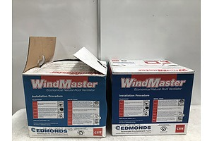 WindMaster Economical Roof Ventilators -Lot Of Two