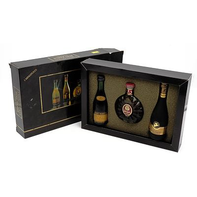 Remy Martin Cognac - Boxed Set of Three Miniatures