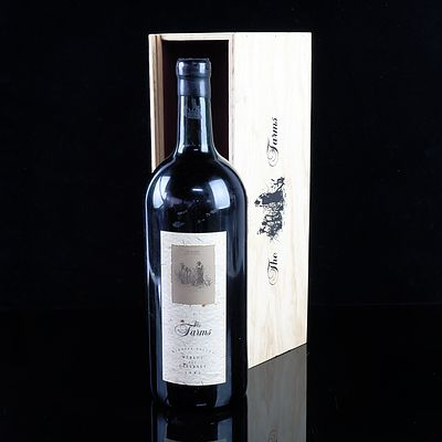 The Farms Barossa Valley 1992 Cabernet Merlot - 3 Litre  in Timber Presentation Case
