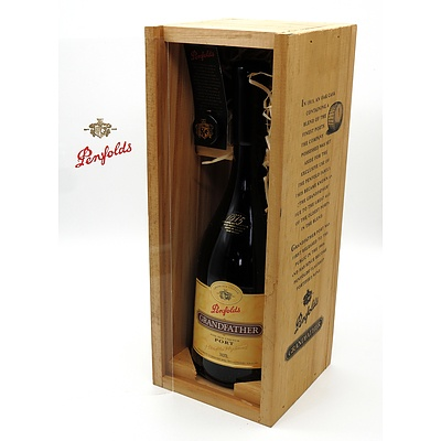 Penfolds Grandfather Port 740 ml in Timber Presentation Case