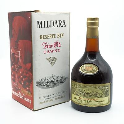 Mildara Reserve Bin Fine Old Tawny - 6 Fl Oz in Original Box