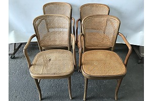 Vintage Bentwood Armchairs -Lot Of Four