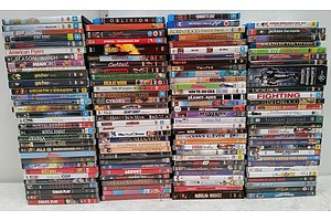 Bulk Lot of Assorted DVD's