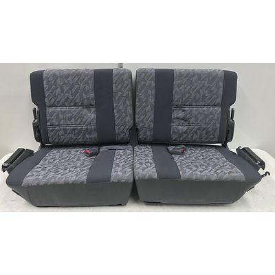 Pair Of land Cruiser Rear Seats