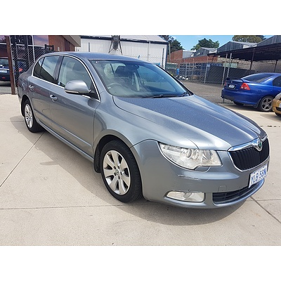 11/2010 Skoda Superb 1.8 TSI Ambition 3T 5d Sedan Grey 1.8L