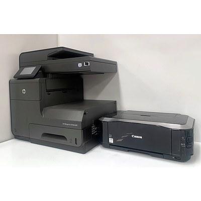 Bulk Lot Of Assorted Printers (Lot Of Six)