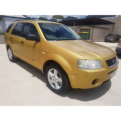 3/2005 Ford Territory TS (4x4) SX 4d Wagon Yellow 4.0L