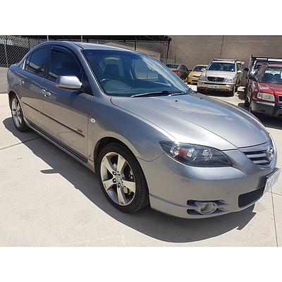 11/2005 Mazda Mazda3 SP23 BK 4d Sedan Silver 2.3L