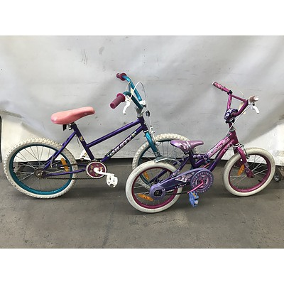 Huffy and Southern Star Kids Bikes