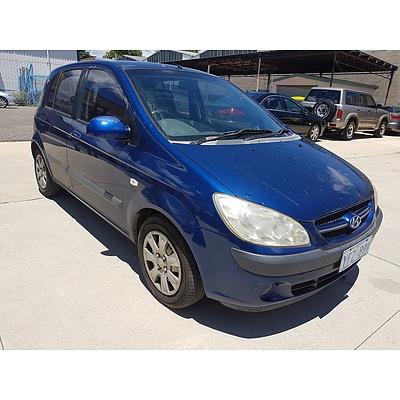 4/2006 Hyundai Getz 1.4 TB UPGRADE 5d Hatchback Blue 1.4L