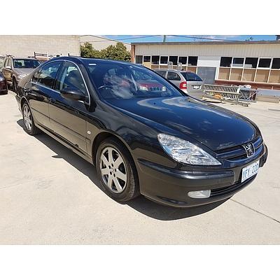 1/2005 Peugeot 607 4d Sedan Black 3.0L