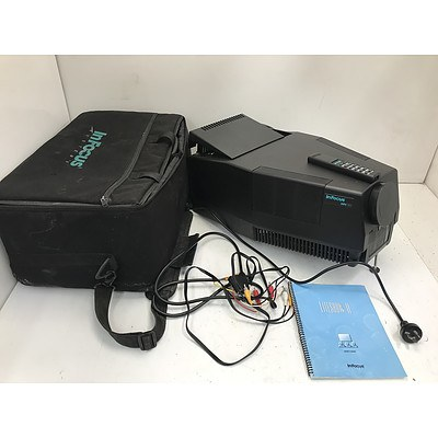 InFocus Systems LitePro 550Ls VGA DLP Projector -For Parts Or Repair