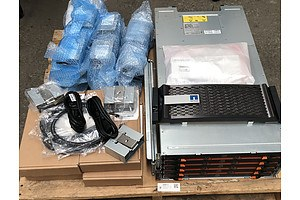 NetApp (NAJ-1503) E2800 Series 60-Bay 4RU Hybrid-Flash Storage System w/ 120TB of Total Storage