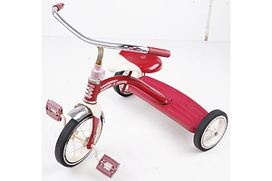 Retro Red Radio Flyer Tricycle