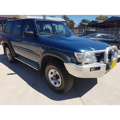 1/2001 Nissan Patrol ST (4x4) GU II 4d Wagon  4.5L