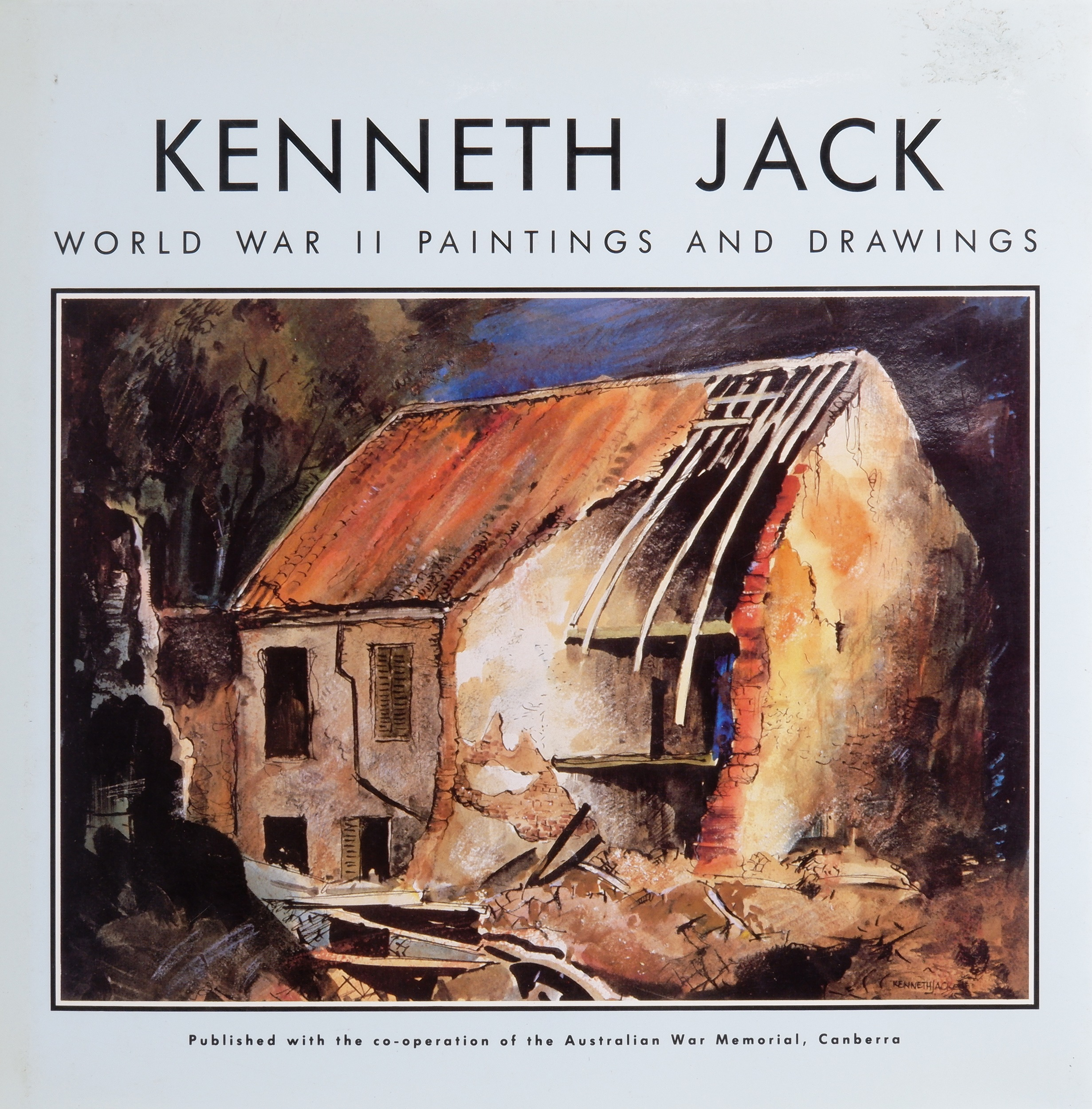 'Kenneth Jack: World War II Paintings and Drawings Boolarong Publishing, Brisbane, 1989. Hardcover. 104 pages'