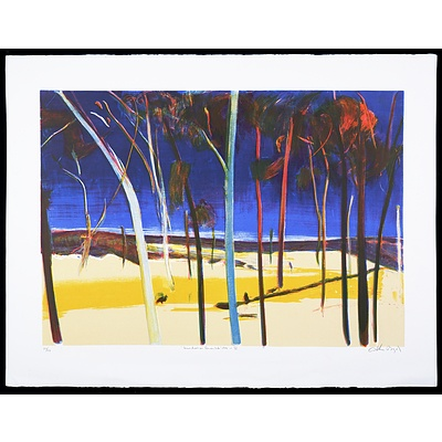 Arthur Boyd (1920-1999), Bundanon Quartet IV 1991, Lithograph, 49 x 70 cm